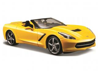 Chevrolet Corvette Stingray Convertible 2014 gelb Maisto 1:24