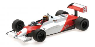 MCLAREN FORD MP4/1C - STEFAN BELLOF TEST SILVERSTONE 10TH NOVEMBER 1983 Minichamps 1:18 Resinemodell