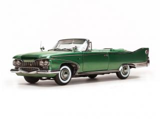 Plymouth Fury Open Convertible 1960 Chrome Green SunStar 1:18