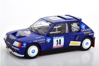 Peugeot 205 T16 1985 #14 B.Darniche/ A. Mahe Tour de Corse Triple9 Collection 1:18