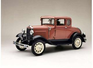 Ford Model A Coupe 1931 brown SunStar Metallmodell 1:18