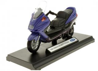 Yamaha Majesty YP250DX 1999 blau Welly 1:18