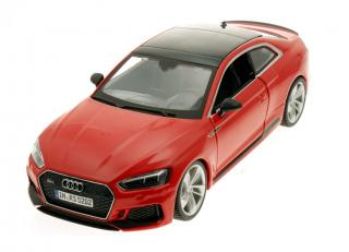 Audi RS5 coupe rot 1:24 Burago 1:24