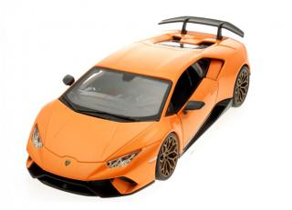 Lamborghini Huracan Performante 2018 orange Burago 1:24