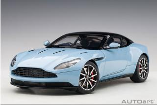 Aston Martin DB11 (Q FROSTED GLASS BLUE) (composite model/full openings) AUTOart 1:18