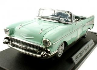 Chevy Bel Air Convertible 1957 grün MotorMax 1:18