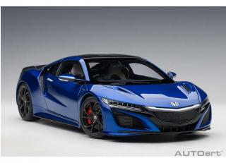 HONDA NSX (NC1) 2016 (PEARL BLUE) (COMPOSITE MODEL/FULL OPENINGS) AUTOart 1:18