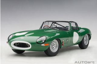 JAGUAR LIGHTWEIGHT E-TYPE (RACING GREEN) AUTOart 1:18