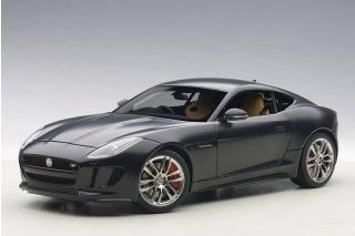 JAGUAR F-TYPE R COUPE (MATT BLACK) 2015 (COMPOSITE MODEL/FULL OPENINGS) AUTOart 1:18
