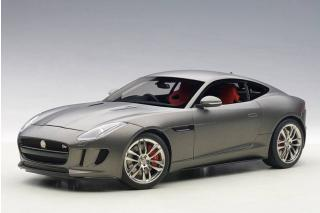 JAGUAR F-TYPE R COUPE (MATT GREY) 2015 (COMPOSITE MODEL/FULL OPENINGS) AUTOart 1:18