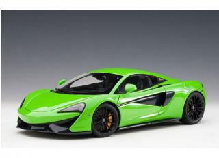 McLAREN 570S (MANTIS GREEN/BLACK WHEELS) 2016 (COMPOSITE MODEL/3 OPENINGS) AUTOart 1:18