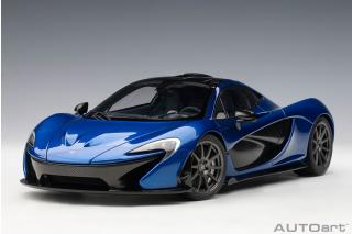 McLaren P1 2013 (azure blue) (composite model/full openings) Available from 17.December 2019  AUTOart 1:18