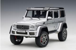 MERCEDES-BENZ G 500 4X4 2 2016 (SILVER) (COMPOSITE MODEL/FULL OPENINGS) AUTOart 1:18