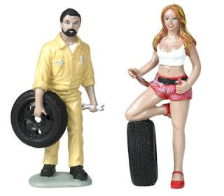 Andie & Gary Tire Brigade 1:18