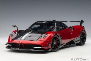 PAGANI HUAYRA BC (ROSSO DUBAI/CARBON) (COMPOSITE MODEL/FULL OPENINGS) AUTOart 1:18