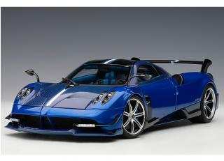 PAGANI HUAYRA BC 2016 (BLUE/CARBON) (COMPOSITE MODEL/FULL OPENINGS) AUTOart 1:18