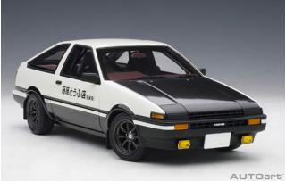 "Toyota Sprinter Trueno (AE86) Project D "" Finale Version (full openings) AUTOart 1:18"