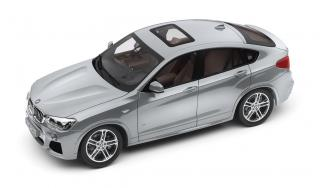 BMW X4 Glacier Silver (silber) Industriemodell (in BMW Verpackung) Paragon Models 1:18
