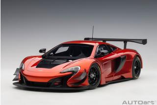 McLaren 650S GT3 volcano orange (COMPOSITE MODEL/2 door openings) AUTOart 1:18