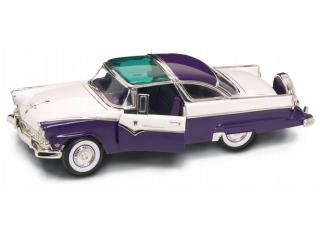FORD CROWN VICTORIA 1955 PURPLE (lila/weiß) Road Signature 1:18