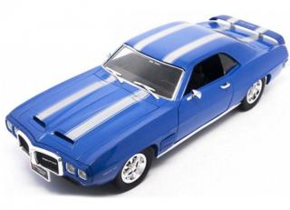 Pontiac Firebird Trans Am 1969 blaumetallic Road Signature 1:18