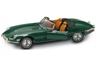 Jaguar E-Type grün 1971 Road Signature 1:18