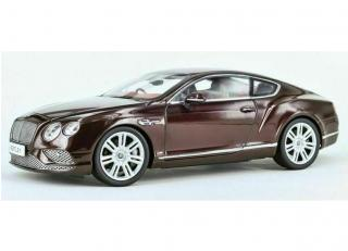 Bentley Continental GT 2016 - burgundy Paragon 1:18
