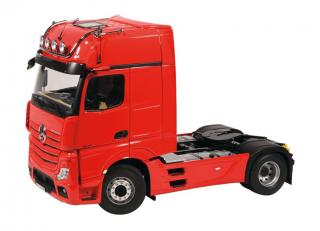 MERCEDES BENZ ACTROS GIGASPACE 4X2 Sattelzugmaschine rot - Facelift 2018 NZG 1:18