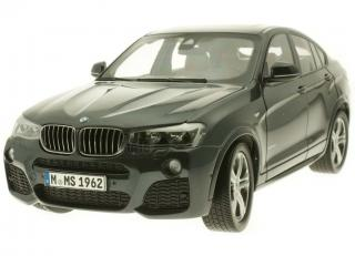 BMW X4 grau (Sophito Grey) Industriemodell (in BMW-Verpackung) Paragon 1:18
