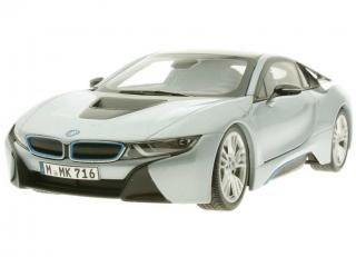 BMW i8 ionic silver with blue matt Paragon 1:18