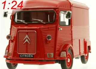 Citroen Type H rot Welly 1:24