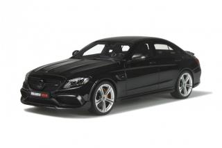 Brabus 650 Sedan Black Limited to 1500 pcs GT Spirit (OttO mobile) 1:18 resin model (doors, engine hood, etc. can not be opened!)