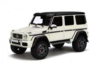 Mercedes- Benz G500 4x4² Diamond white Limited to  2000 pcs GT Spirit (by OttoMobile) 1:18 Resinemodell (Türen, Motorhaube... nicht zu öffnen!)