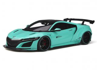 HONDA NSX Customized car by LB-WORKS 2017 Tiffany blue  GT Spirit 1:18 Resinemodell (Türen, Motorhaube... nicht zu öffnen!)