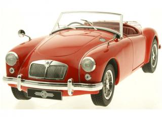 MGA 1957 MKI A1500 red open convertible Triple9 Collection 1:18
