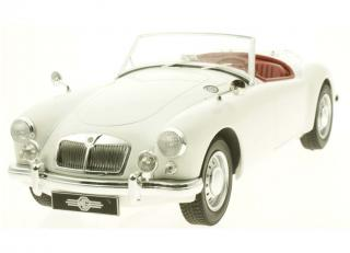MGA 1961 MKII A1600 white open convertible Triple9 Collection 1:18