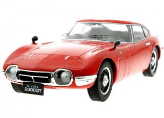 Toyota 2000gt 1967 rot Triple 9 Collection 1:18