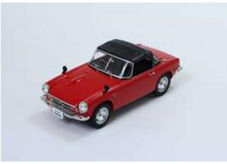 Honda S800 with removable soft top 1966 - red - Triple9 Collection 1:18
