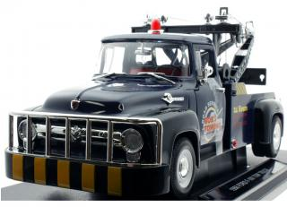 Ford F-100 Tow Truck 1956 blau  Welly 1:18