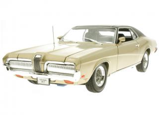 Mercury Cougar XR7 1970 gold metallic   Welly 1:18