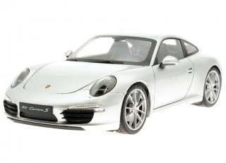 Porsche 911 (991) Carrera S silber    Welly 1:18