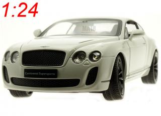 Bentley Continental Supersports weiß (white) Welly 1:24