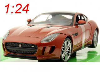 Jaguar F-Type Coupe metallic orange   Welly 1:24