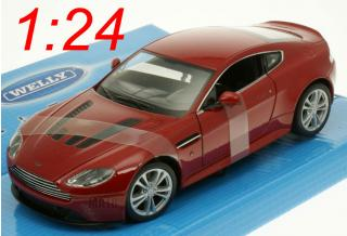 Aston Martin V12 Vantage 2010 rot Welly 1:24