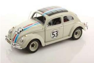 "VW Käfer (Beetle) ""Herbie"" the Love Bug  Mattel Heritage 1:18"