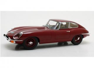 Jaguar E-Type Series II - 1968 - red Cult Scale 1:18
