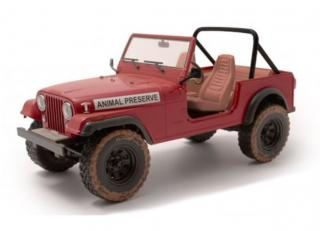 "Jeep CJ-5 animal preserve ""the A-Team"" TV Show Greenlight 1:18"