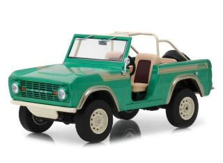 Ford Bronco 1976 *Twin Peaks* Gas Monkey Garage (2012-Current TV), Artisan Collection with opening doors, green Greenlight 1:18