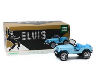 Jeep CJ-5 *Elvis Presley 1935-77*, sierra blue Greenlight 1:18