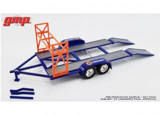 Autotransporter Tandem Car Trailer *Union 76*, blue/orange GMP 1:18 GMP 1:18